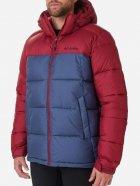 Куртка Columbia Pike Lake Hooded Jacket O0020479 XL Сине-бордовая (0192660114477) - изображение 1