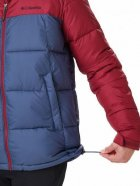 Куртка Columbia Pike Lake Hooded Jacket O0020479 XL Сине-бордовая (0192660114477) - изображение 3