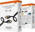 Кабель Inakustik Star High Speed HDMI Cable with Ethernet 0.75 м (324507) - зображення 1