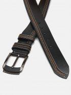 Мужской ремень кожаный Sergio Torri 14-0007/45 130 см Черный (2000000019864) - изображение 3