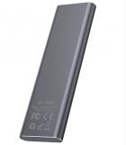 Внешний накопитель 512GB SSD Type-C HOCO UD7 серый - изображение 3
