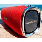 Мощная портативная акустическая 2.1 беспроводная Bluetooth Блютуз колонка с сабвуфером Hopestar A6 Red - изображение 3