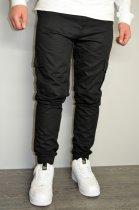 Чоловічі спортивні штани hype drive black розмір S J-057 - зображення 2