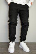 Чоловічі спортивні штани hype drive black розмір S J-057 - зображення 4