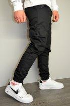 Чоловічі спортивні штани hype drive black розмір S J-057 - зображення 5