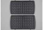 Мультимейкер Crownberg CB-1071 3 в 1 гриль + сендвичница + вафельниця Чорна (11654) - зображення 3