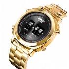 Наручний годинник Skmei 1531 Gold-Black - зображення 2