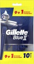 Одноразовые станки для бритья (Бритвы) мужские Gillette Blue 2 10 шт (7702018467679) - изображение 2