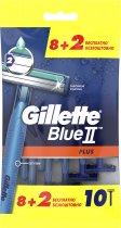 Одноразовые станки для бритья (Бритвы) мужские Gillette Blue 2 Plus 10 шт (7702018467600) - изображение 2