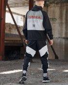 Спортивные штаны Пушка Огонь Split черно-белые с рефлективом XL - изображение 10