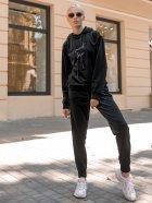 Спортивный костюм Lilove 052 4XL(54-56) Черный (ROZ6400022441) - изображение 6