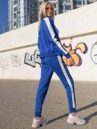 Спортивний костюм Lilove 057-1 4XL (54-56) Електрик (ROZ6400022510) - зображення 6