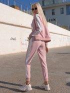 Спортивный костюм Lilove 057 4XL(54-56) Розовый (ROZ6400022506) - изображение 6
