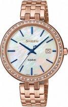 Жіночі наручні годинники Casio SHE-4052PG-2AUEF - зображення 1
