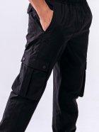 Спортивные штаны PEAK FW301351-BLA L Черные (6941230155310) - изображение 4