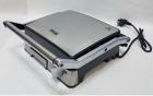 Гриль електричний DSP KB1045 професійний з функцією контролю температури [1800 ВТ] знімні панелі, Сріблястий - зображення 3