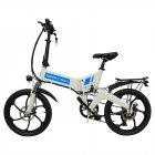 Електровелосипед ZM TigerVolt 20 білий - зображення 4