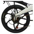 Електровелосипед ZM TigerVolt 20 білий - зображення 9