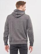 Худи Calvin Klein Jeans Monogram Badge Grindle Hoodie J30J316551-BEH S CK Black (8719853137000) - изображение 2