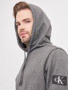 Худи Calvin Klein Jeans Monogram Badge Grindle Hoodie J30J316551-BEH S CK Black (8719853137000) - изображение 4