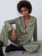 Брюки Zara 7385/274/501 XS Зеленые (07385274501013) - изображение 4