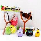 Іграшкова Рогатка Angry Birds з героями 2 види в кульку - изображение 1