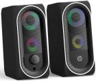 Акустична система HP DHE-6001 LED RGB Black - зображення 3
