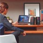 Акустична система HP DHE-6001 LED RGB Black - зображення 6