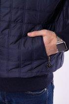 Куртка стеганая Time of Style 187P143 XL Темно-синий - изображение 5