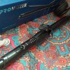 Плойка для волос с зажимом профессиональная для завивки волос 25мм Pro Mozer MZ-6627 Черная - изображение 6