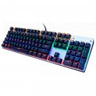 Механічна ігрова клавіатура з підсвічуванням Metoo Zero X08, світчі чорні - зображення 2