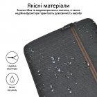 """Чохол для ноутбука Promate Portfolio-L 16"""" Black (portfolio-l.black) - зображення 7"""