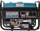 Генератор бензиновый Konner&Sohnen с ручным и электро запуском (KS 3000E) - изображение 1