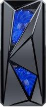 Корпус 1stPlayer F4-3A1-15LED Blue - изображение 2