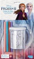 Набір для творчості 4M Frozen 2 Холодне серце 2 Розмалюй чашку (00-06200) (4893156062000) - зображення 1