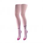 Детские колготы Duna для девочки розовые 134-140 4410 - изображение 1