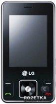 Мобільний телефон LG KC550 black - зображення 1