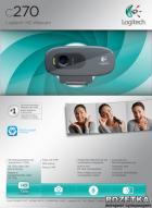 Logitech WebCam C270 (960-001063) - зображення 2