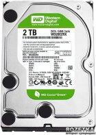 Жесткий диск Western Digital Green 2TB 5400rpm 64МB WD20EZRX 3.5 SATA III - изображение 1