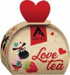 Чай чорний байховий цейлонський Askold Love tea Strawberry tea 40 г (4820171917787) - зображення 1