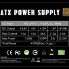 Блок питания GAMEMAX 450W (GP-450) - изображение 5