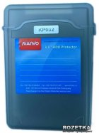 """Контейнер Maiwo захисний для HDD 3.5"""" Grey (KP002) - зображення 1"""