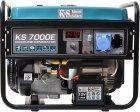 Генератор бензиновый Konner&Sohnen KS 7000E - изображение 1