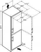 Двокамерний холодильник LIEBHERR CN 4015 - зображення 10