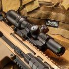 Оптический прицел Barska AR6 Tactical 1-6x24 (IR Mil-Dot R/G) (922719) - изображение 5