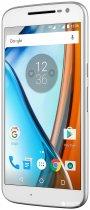 Мобільний телефон Motorola MOTO G4 (XT1622) White - зображення 2
