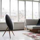 Акустична система Bang & Olufsen BeoPlay A9 Black, incl. front cover, walnut legs (2890-18) - зображення 6