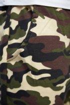 Спортивные штаны FIGO 19865 камуфляж S Хаки - изображение 2