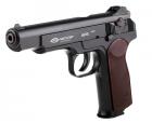 Пневматический пистолет Gletcher APS NBB Пистолет Стечкина АПС газобаллонный CO2 125 м/с - изображение 7