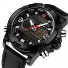 Чоловічі спортивні кварцові годинники Naviforce Kosmos Black NF9097 - зображення 2